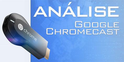 Imagem de Análise: dispositivo de transmissão Google Chromecast [vídeo] no site TecMundo