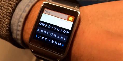 Imagem de Já é permitido digitar no Galaxy Gear com o app Flesky no site TecMundo