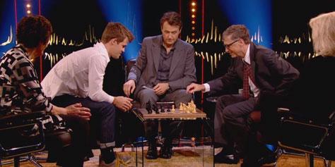 Imagem de Bill Gates perde do melhor jogador de xadrez do mundo em 71 segundos no site TecMundo