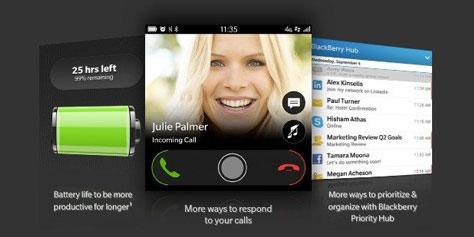 Imagem de BlackBerry 10 atualiza tela de bloqueio e ganha função de rádio no site TecMundo
