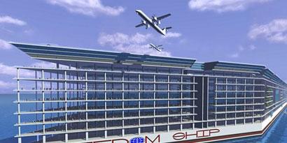 Imagem de Freedom Ship: a cidade flutuante que vai navegar pelos oceanos no site TecMundo