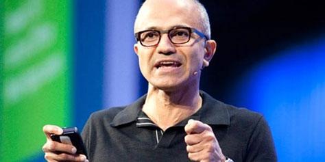Imagem de Novo CEO da Microsoft diz que Ballmer e Gates servem como teste de pressão no site TecMundo