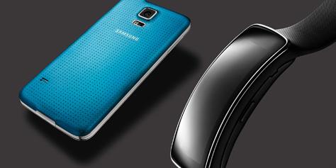 Imagem de Samsung apresenta pulseira inteligente Gear Fit no site TecMundo