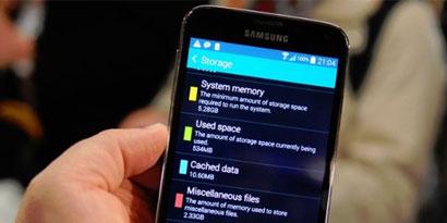 Imagem de Problema: só a memória do sistema no Galaxy S5 ocupa mais de 5 GB no site TecMundo