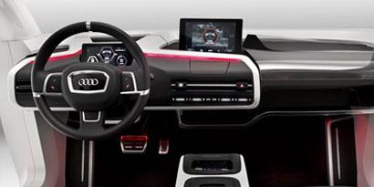 Imagem de Audi exibe protótipo mostrando como seria um carro em 2025 no site TecMundo