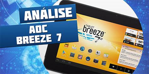Imagem de Análise: tablet AOC Breeze 7 Y2241 [vídeo] no site TecMundo