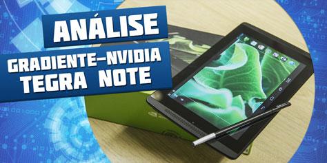 Imagem de Análise: tablet Gradiente Tegra Note 7 [vídeo] no site TecMundo