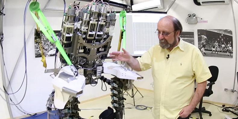 Imagem de Miguel Nicolelis fala sobre exoesqueleto robótico que abrirá a Copa [vídeo] no site TecMundo