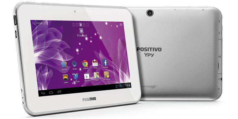 Imagem de Positivo apresenta tablet especial para o dia das mães por R$ 369 no site TecMundo