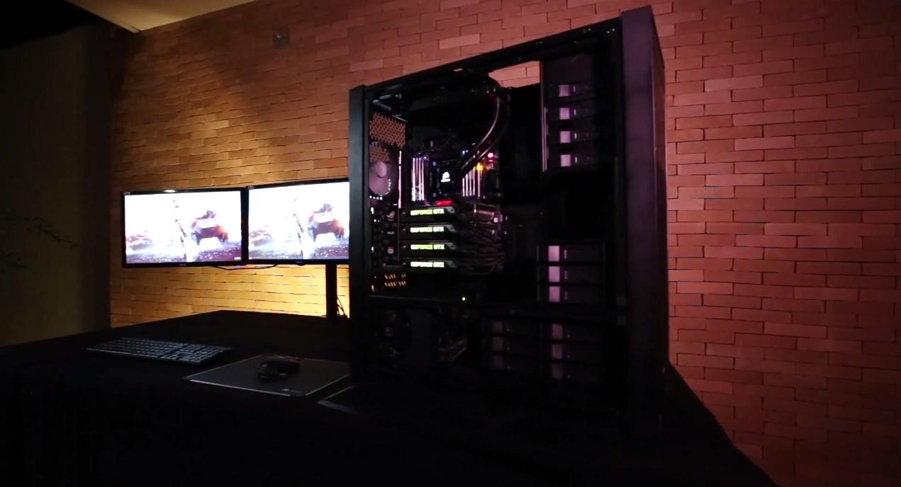 Imagem de 4K é pouco: campeão de overclock monta o PC gamer dos sonhos no site TecMundo