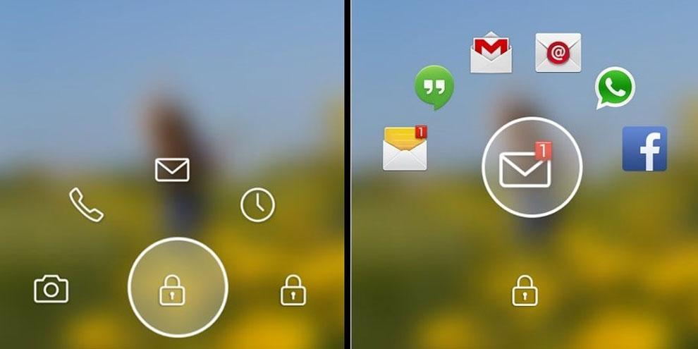 Imagem de Start for Android, uma tela de bloqueio que enriquece seu aparelho no site TecMundo