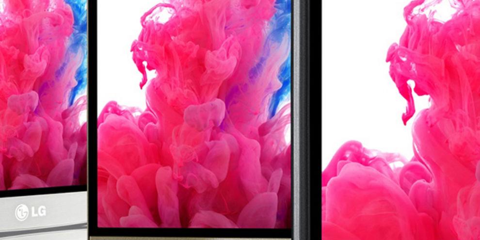 Imagem de Display QHD de 5,5 polegadas é destaque no novo LG G3 no site TecMundo