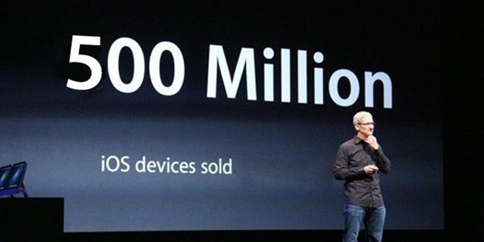 Imagem de Apple já conseguiu vender mais de 800 milhões de aparelhos com o iOS no site TecMundo