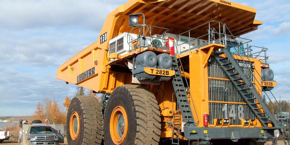 Imagem de Conheça o Liebherr T282B, um caminhão gigantesco de US$ 4,5 milhões no site TecMundo