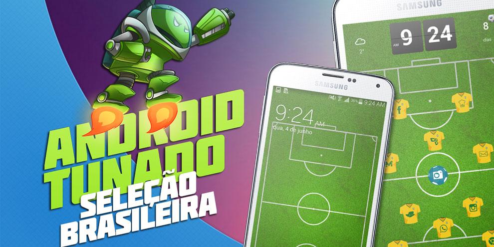 Imagem de Android Tunado: Seleção Brasileira [vídeo] no site TecMundo