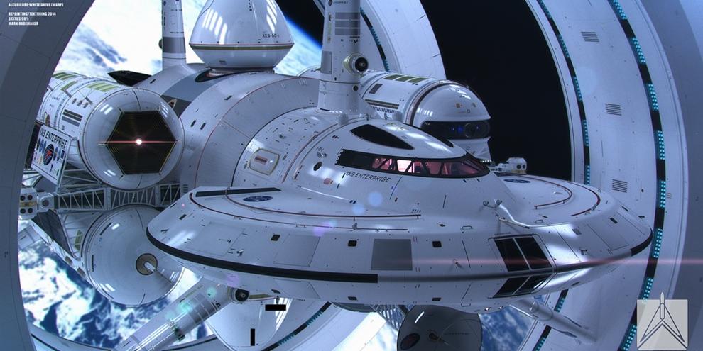 Imagem de Veja como será a Enterprise da vida real desenvolvida pela NASA no site TecMundo
