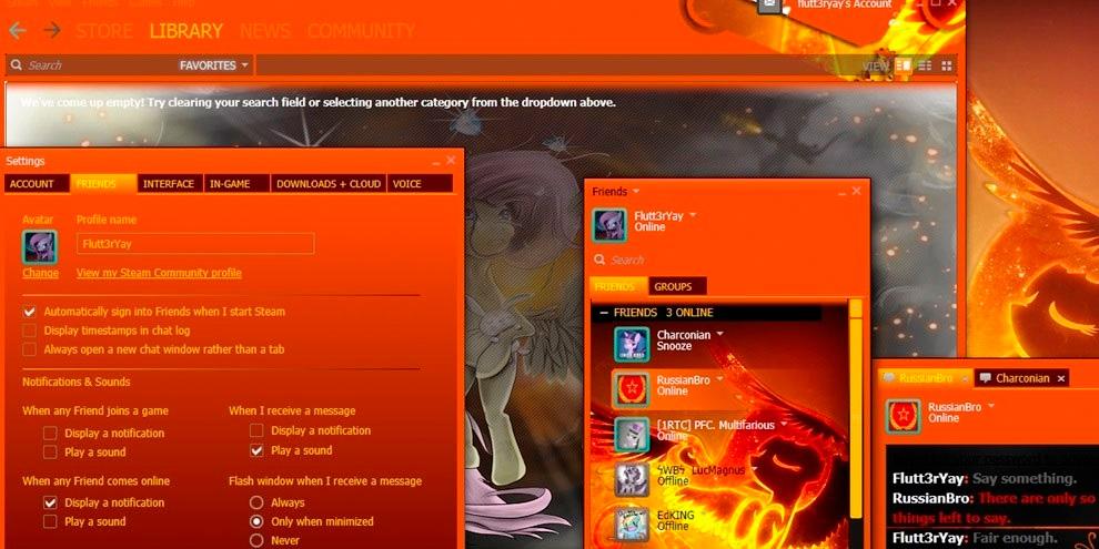 Imagem de Steam: como mudar o visual do programa com skins no site TecMundo