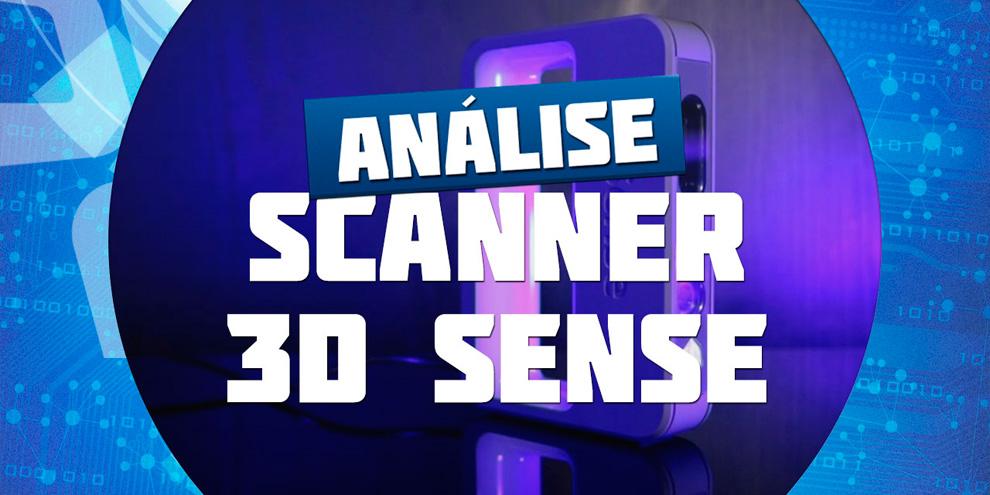 Imagem de Análise: scanner 3D Sense [vídeo] no site TecMundo