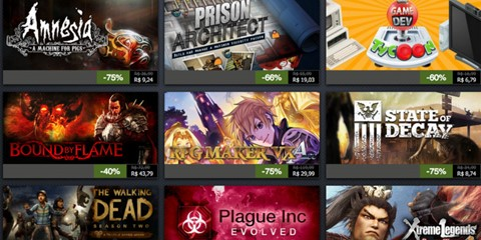 Imagem de Confira as ofertas do segundo dia da Promoção de Férias do Steam no site TecMundo