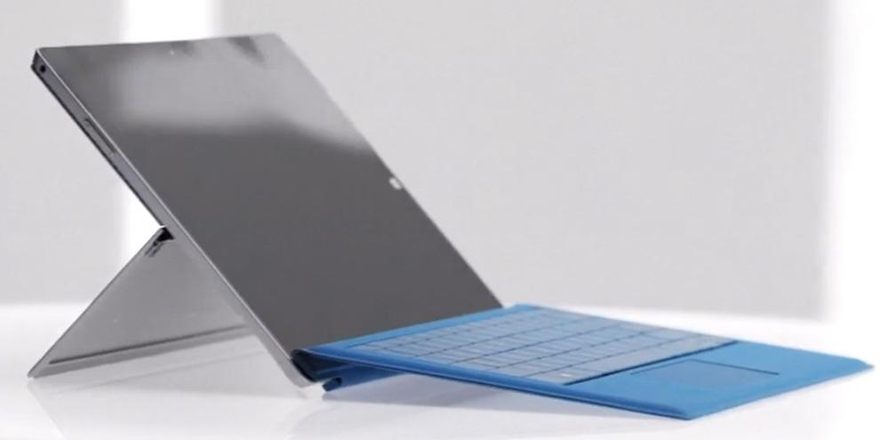 Imagem de Manual do usuário do Surface Pro 3 confirma existência do Surface Mini no site TecMundo