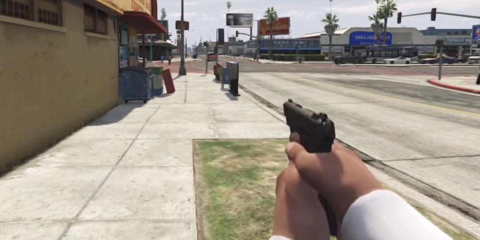 Imagem de Mod de GTA V permite jogar com visão em primeira pessoa no site TecMundo