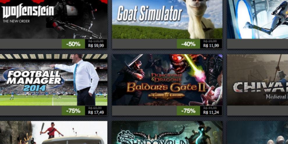 Imagem de Confira as ofertas do décimo dia da Promoção de Férias do Steam no site TecMundo