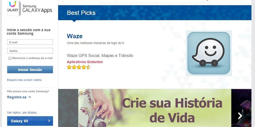 Imagem de Samsung Galaxy Apps: nova loja de aplicativos para a linha Galaxy é lançada no site TecMundo
