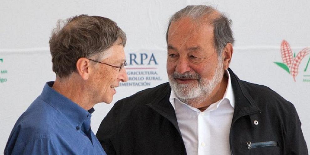 Imagem de Bill Gates perde primeiro lugar  na lista dos mais ricos para Carlos Slim no site TecMundo