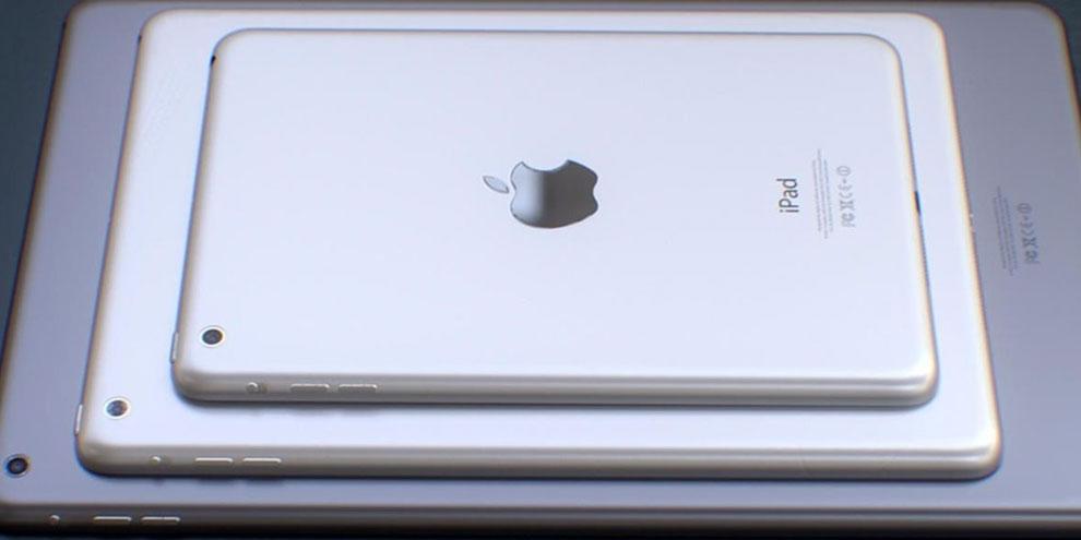 Imagem de iPad Mini 3 pode ser 30% mais fino que seu antecessor no site TecMundo