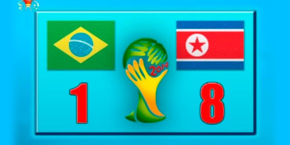 Imagem de Coreia do Norte vence o Brasil por 8x1 e é campeã da Copa do Mundo 2014 no site TecMundo