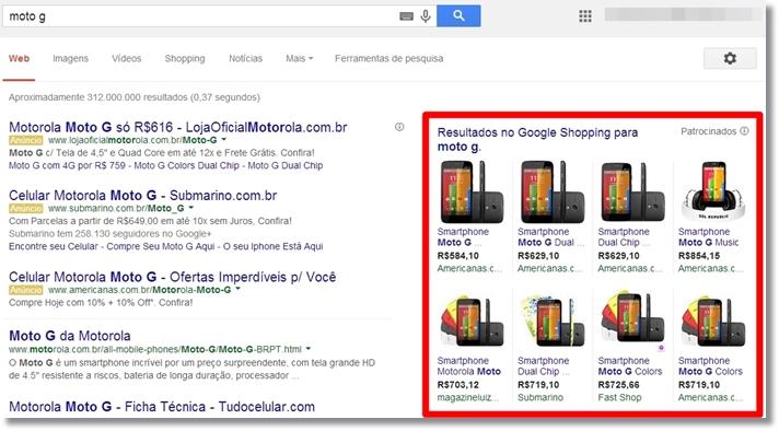 5b55a9346c Funciona assim  a loja A identifica que você buscou pelo item X no Google e  acessou a oferta dele na loja B