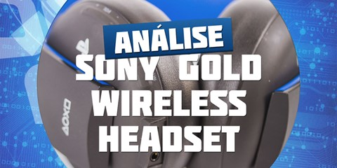 Imagem de Análise: Sony PlayStation Gold Wireless Headset no site TecMundo