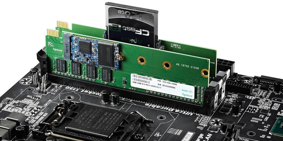 Imagem de Apacer desenvolve memória RAM com SSD embutido no site TecMundo