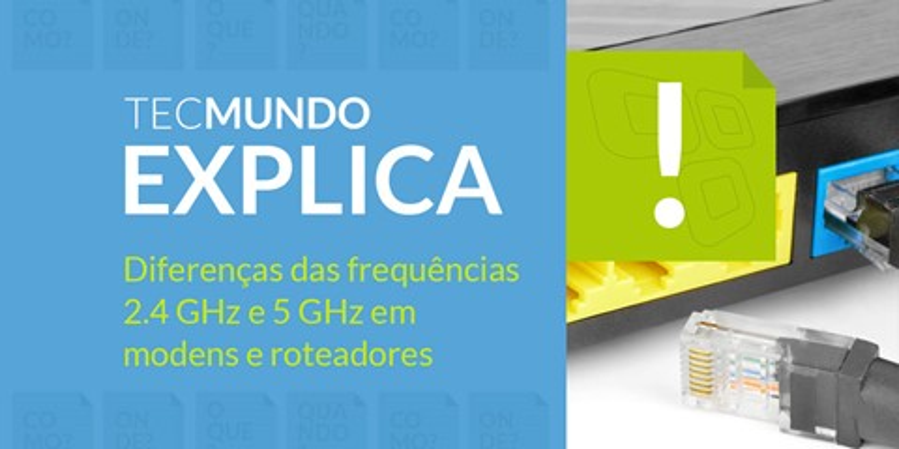 Imagem de TecMundo Explica: WiFi - qual a diferença entre 2,4 GHz e 5 GHz [vídeo] no site TecMundo
