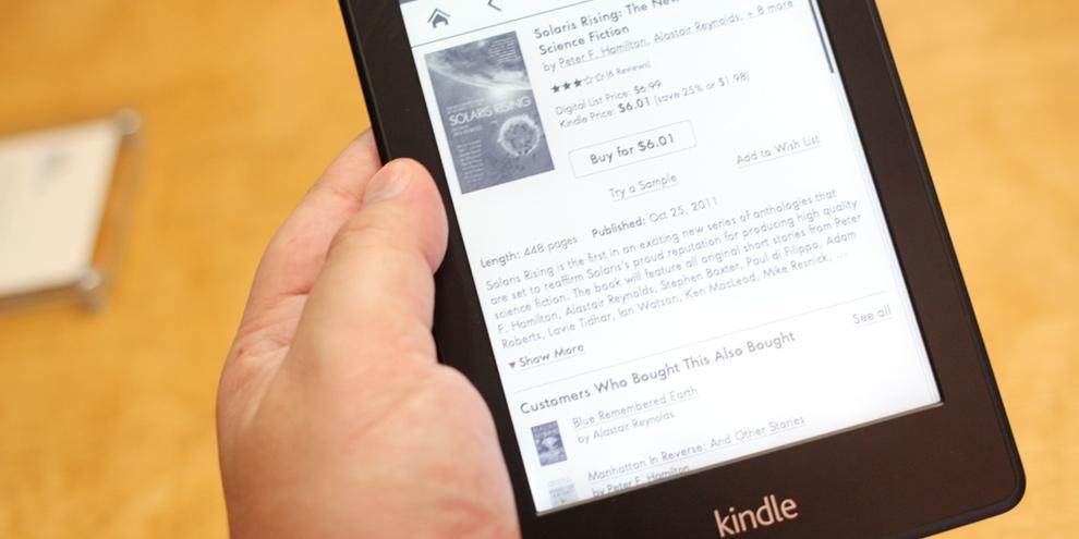 Imagem de Amazon dobra o espaço de armazenamento do Kindle PaperWhite no site TecMundo