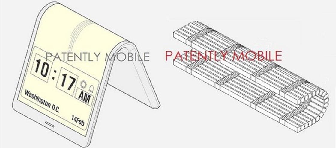 Imagem de Patente mostra como pode ser o próximo gadget dobrável da Samsung no site TecMundo