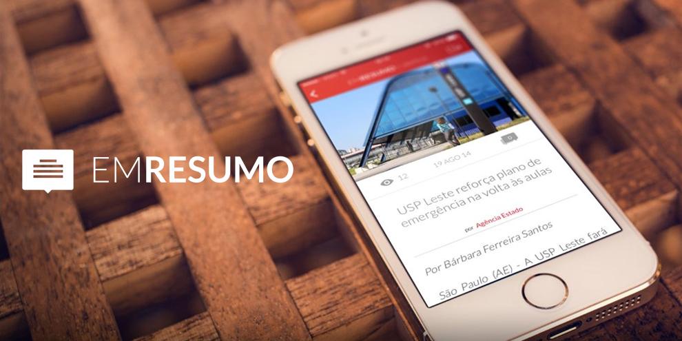 Imagem de Em Resumo ganha aplicativo para celular no site TecMundo
