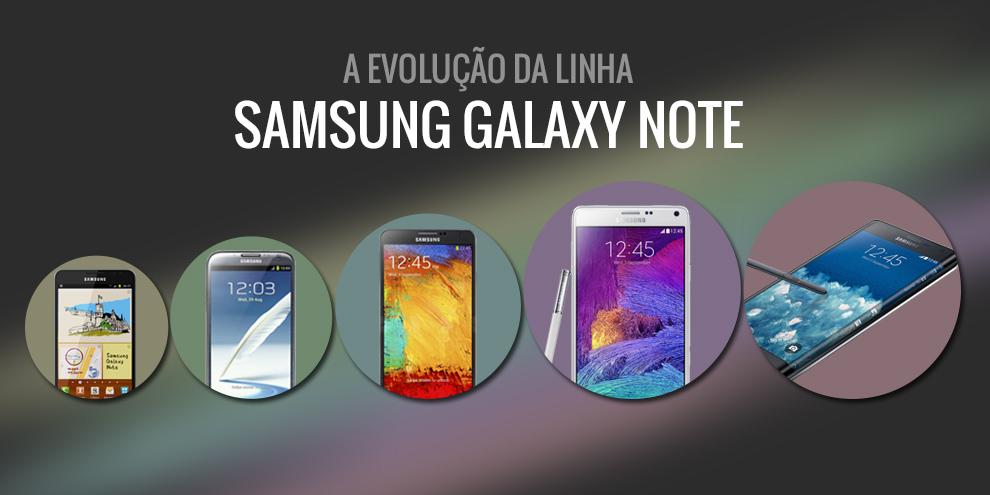 Imagem de A evolução da linha Samsung Galaxy Note no site TecMundo