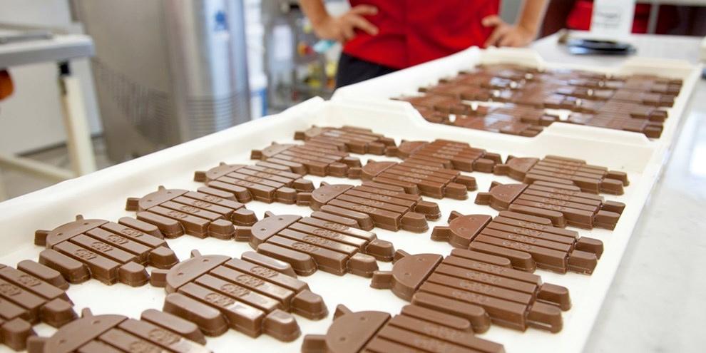Imagem de Google: 24,5% dos aparelhos Android já rodam a versão KitKat do sistema no site TecMundo