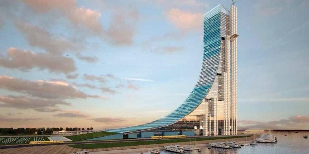 Imagem de Maior edifício da América Latina se parece com uma rampa de skate gigante no site TecMundo