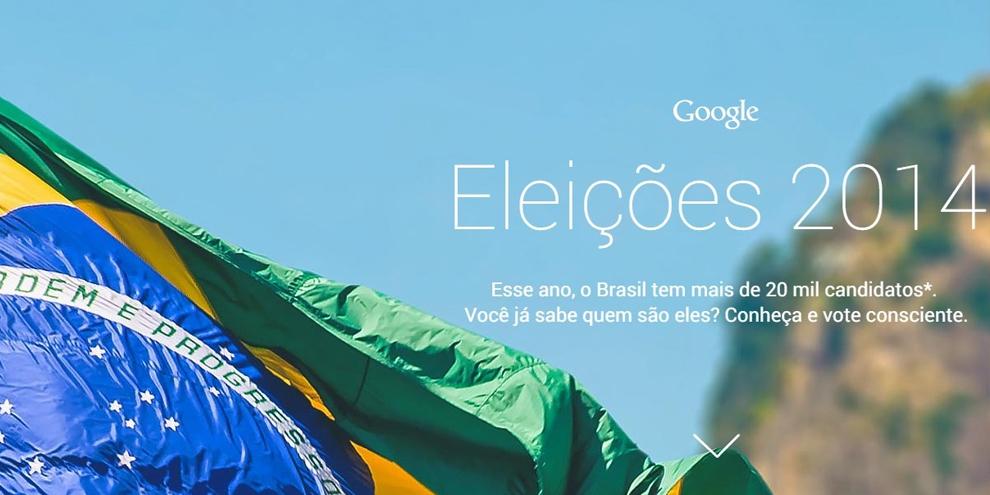 """Imagem de Google lança o """"Eleições 2014"""" para você conhecer os candidatos deste ano no site TecMundo"""