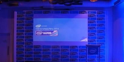 """Imagem de Intel Extreme Party mostra """"aquecimento"""" da Intel para a Campus Party 2014 no site TecMundo"""