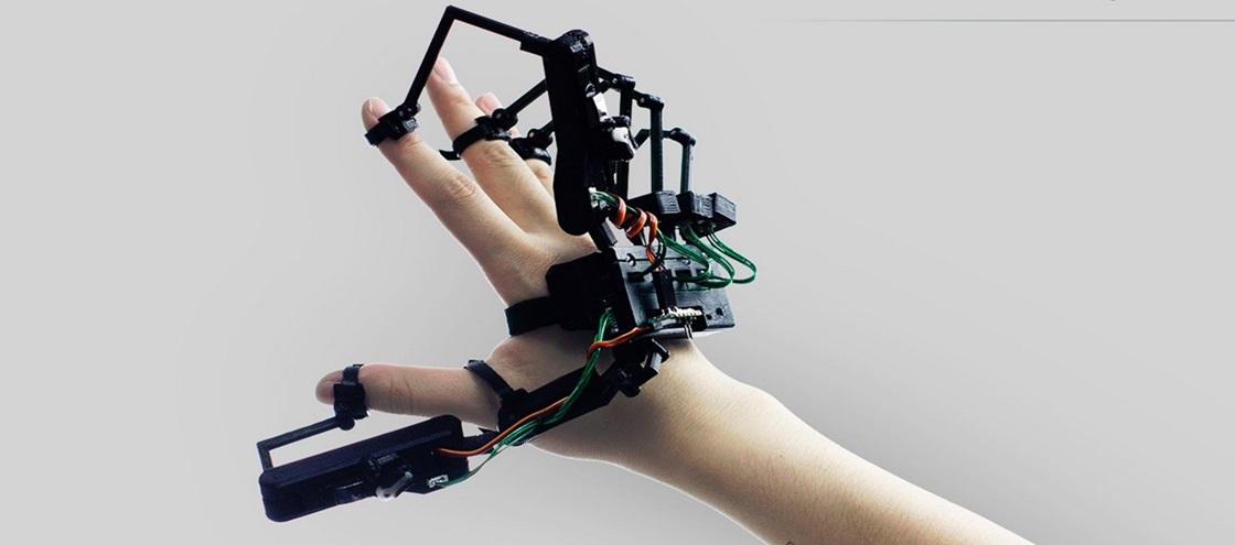 Imagem de Empresa promete exoesqueleto nas mãos para você sentir objetos virtuais no site TecMundo
