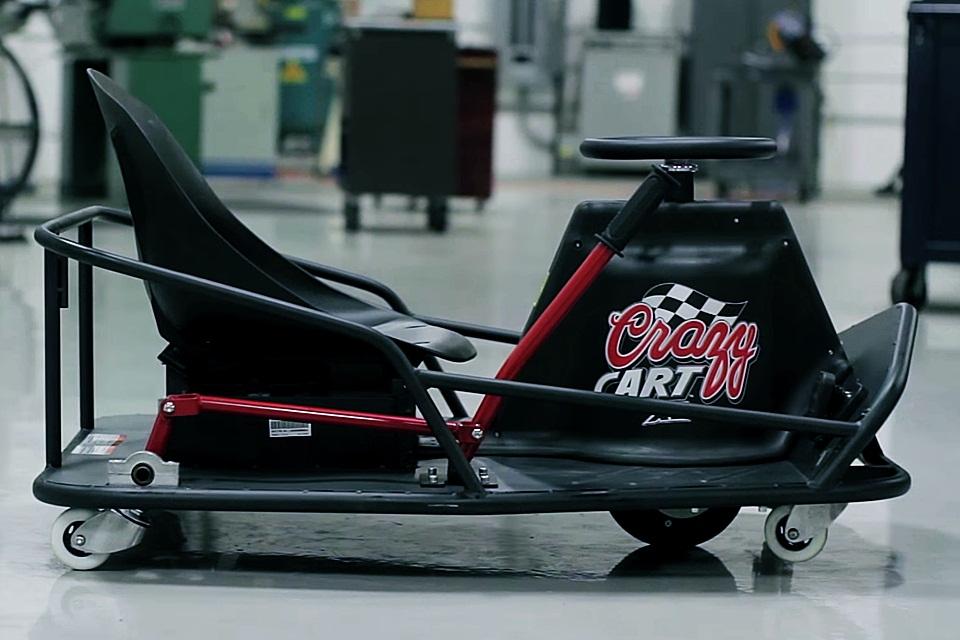 Imagem de Crazy Cart XL: carro elétrico que faz manobras extremas ganha versão adulta no site TecMundo
