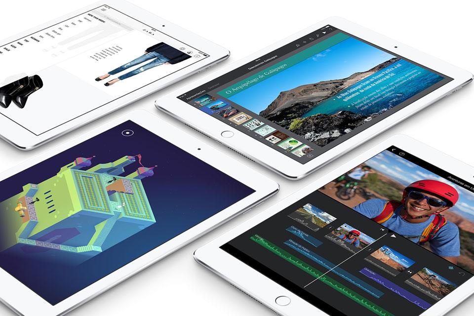 Imagem de iPad Air 2 e iPad mini 3 ainda não têm data de lançamento certa no Brasil no site TecMundo