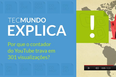 Imagem de TecMundo Explica: por que o contador do YouTube trava em 301 views? [vídeo] no site TecMundo