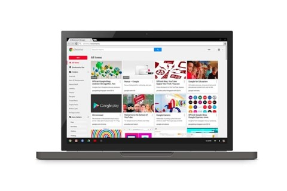 Imagem de Bookmark Manager: novo sistema de favoritos da Google está no ar no site TecMundo