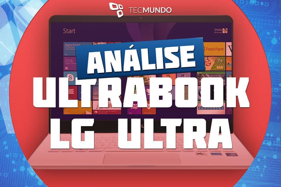 Imagem de Análise: ultrabook LG Ultra Slim Gram PC [vídeo] no site TecMundo