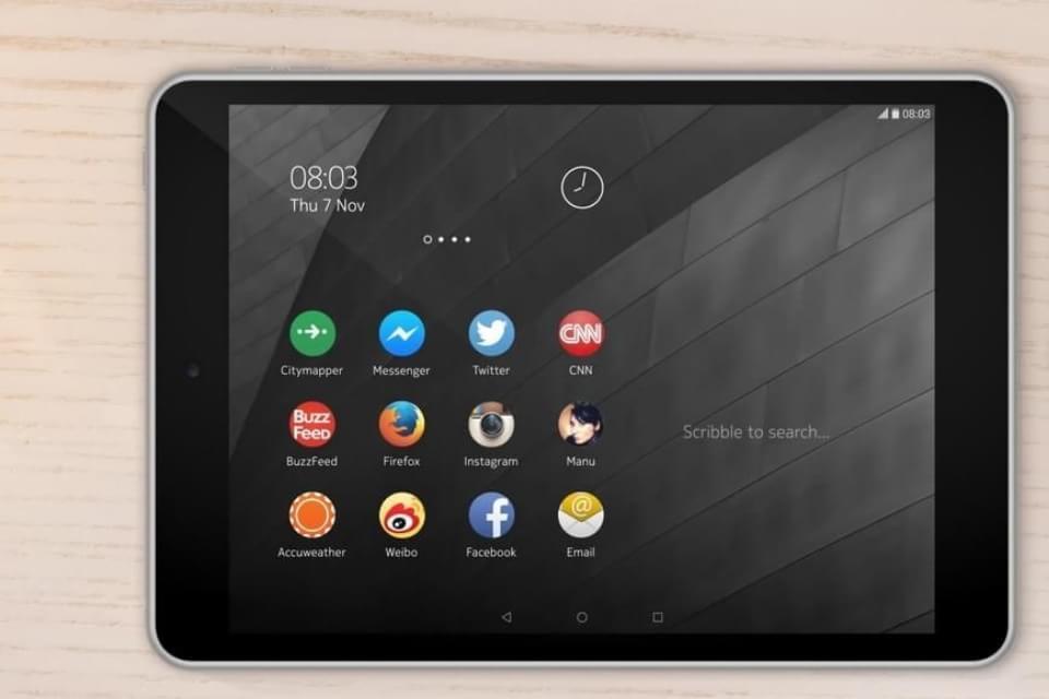 Imagem de Comparação: Nokia N1 contra grandes tablets do mercado no site TecMundo
