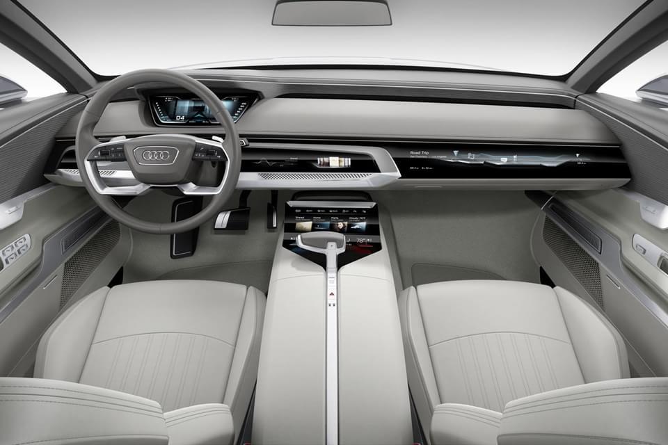 Imagem de Carro inteligente e bonito? O interior desse Audi vai deixar você babando no site TecMundo